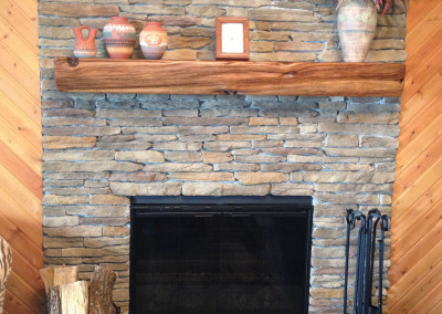Laurel cavern eagle stone for Stonecraft fireplaces